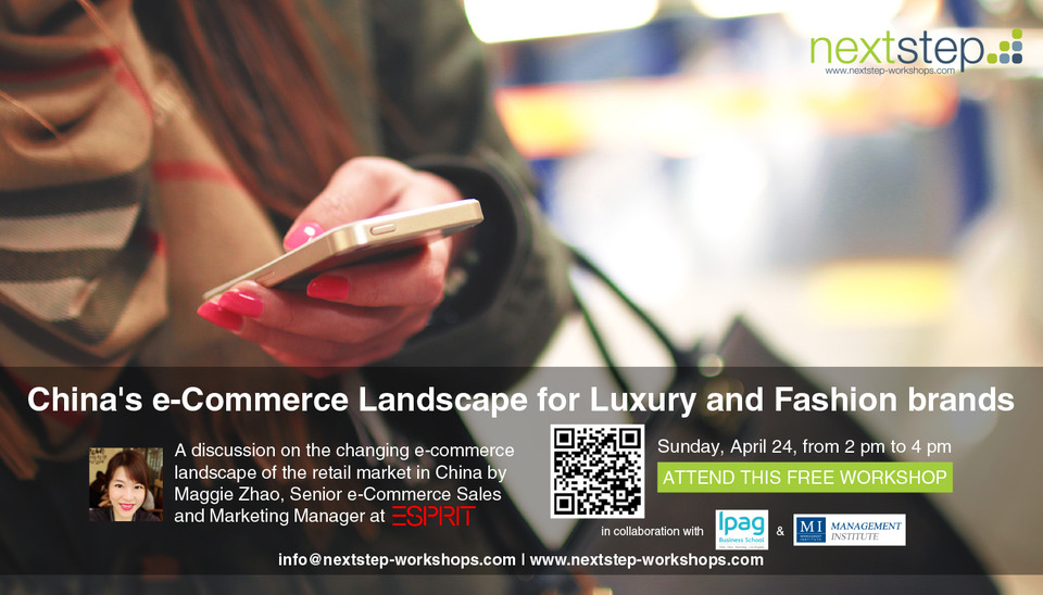 FREE EVENT - China's E-commerce Landscape for Luxury and ...